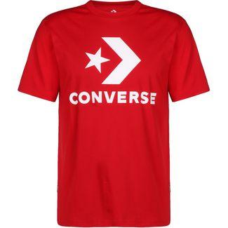 CONVERSE Star Chevron T-Shirt Herren rot