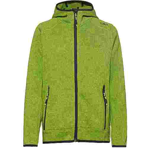 CMP Strickfleece Kinder limegreen