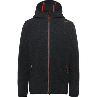 CMP Strickfleece Kinder nero-graffite
