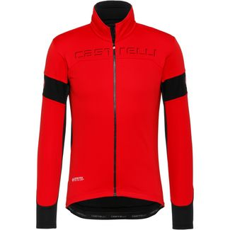 castelli TRANSITION Fahrradjacke Herren red-black