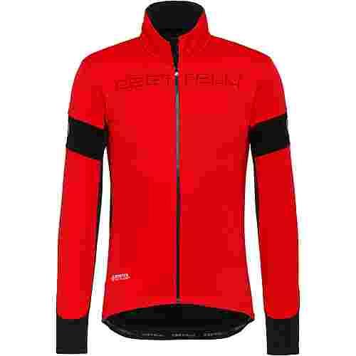 castelli GORE-TEX® TRANSITION Fahrradjacke Herren red-black