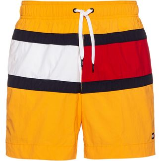 Tommy Hilfiger CORE FLAG Badeshorts Herren gold fusion