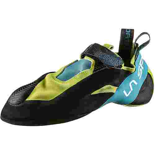 La Sportiva Python Kletterschuhe apple green-tropic blue