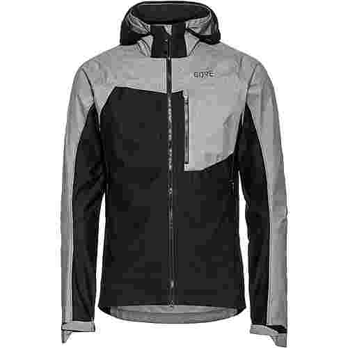 GORE® WEAR C5 GTX INFINIUM™ Hybrid Jacke Funktionsjacke Herren black-terra grey