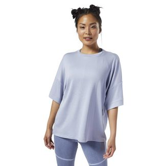 Reebok Nature X Tee Yogashirt Damen Denim Dust