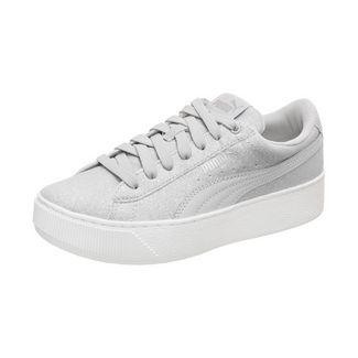 PUMA Suede Platform Flower Tassel Sneaker Damen schwarz grau im Online Shop von SportScheck kaufen