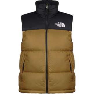 The North Face 1996 Retro Nuptse Outdoorweste Herren khaki / schwarz