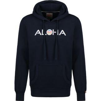 VAN ONE Aloha Retro VW Bulli Hoodie Herren dunkelblau