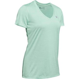 Under Armour Tech Funktionsshirt Damen green