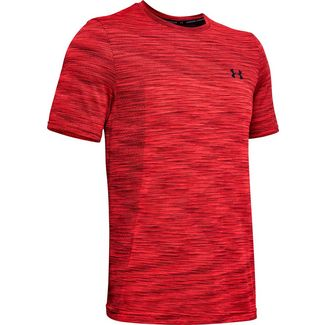 Under Armour Vanish Seamless Funktionsshirt Herren red