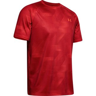 Under Armour Tech 2.0 Funktionsshirt Herren red