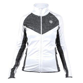 MOROTAI Performance Running Jacket Funktionsjacke Damen Grau Melange