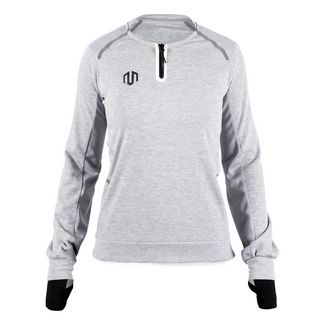 MOROTAI Running Sweatshirt Sweatshirt Damen Hellgrau