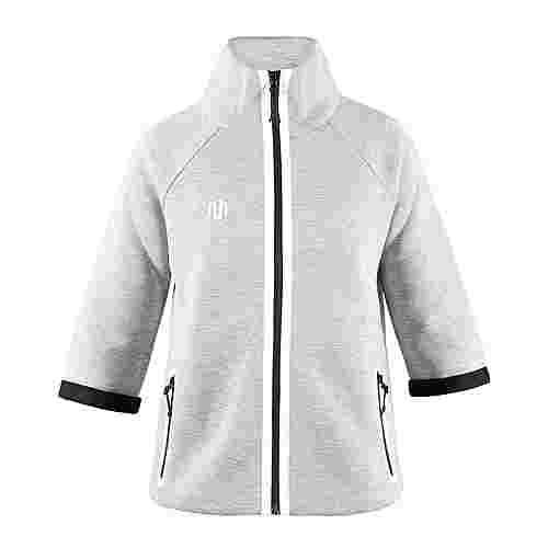 MOROTAI Kimono Jacket Sweatjacke Damen Hellgrau