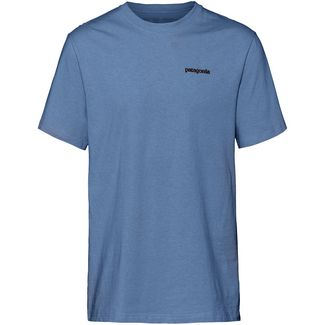 Patagonia P-6 Logo Responsibili T-Shirt Herren woolly blue