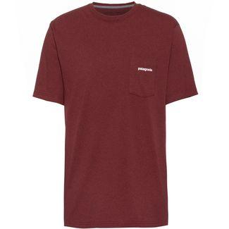 Patagonia P-6 Logo T-Shirt Herren oxide red