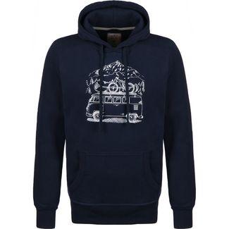 VAN ONE Zugspitze VW Bulli Hoodie Herren dunkelblau