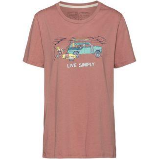 Patagonia Live Simply Lounger Organic T-Shirt Damen century pink