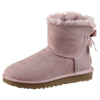 Ugg Mini Bailey BOW II Stiefel Damen pink crystal