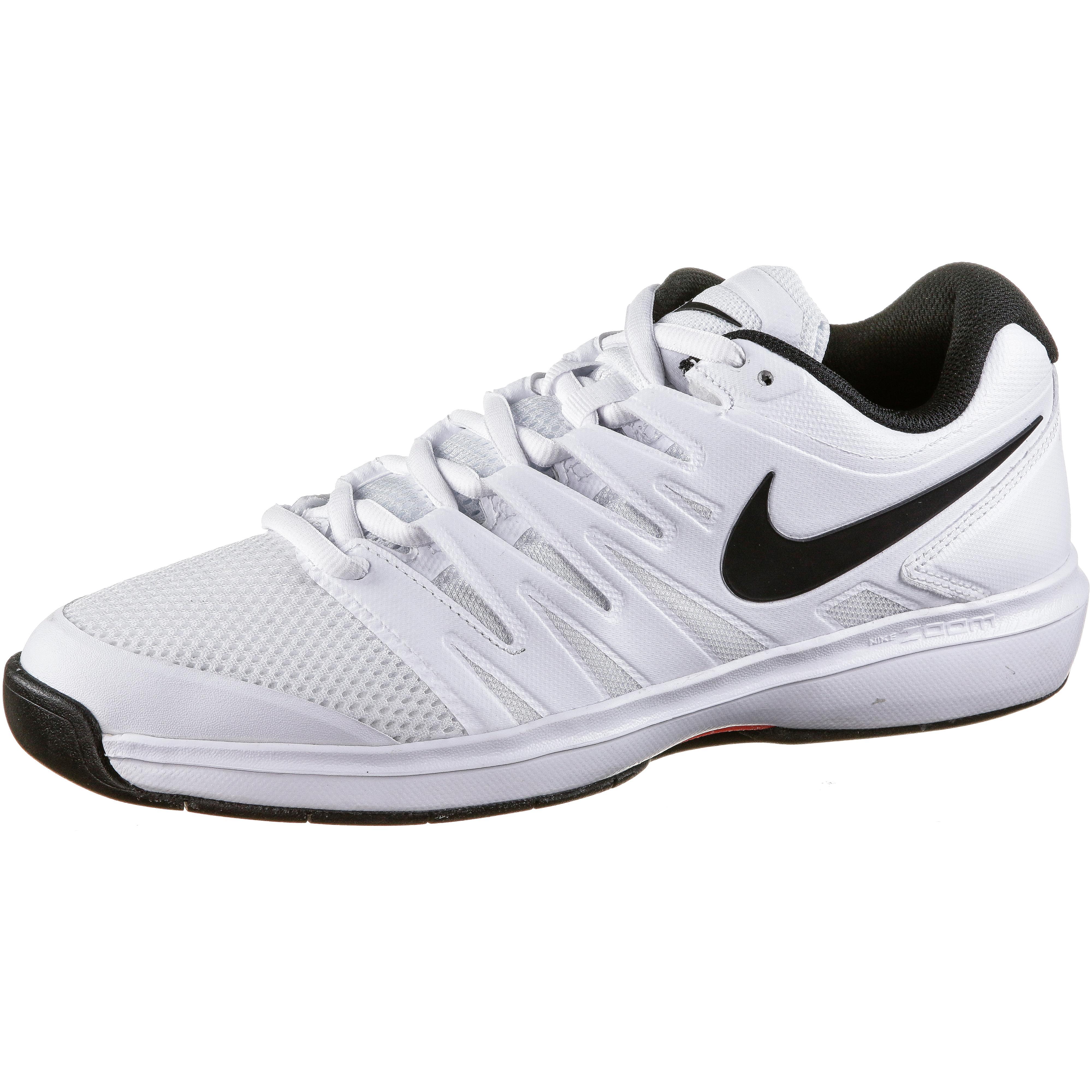 Nike AIR ZOOM PRESTIGE CPT Tennisschuhe Herren white black bright crimson im Online Shop von SportScheck kaufen