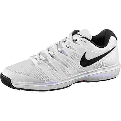 Nike AIR ZOOM PRESTIGE CPT Tennisschuhe Herren white-black-bright crimson