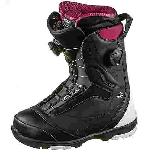 Nitro Snowboards Cypress Boa Dual Snowboard Boots Damen black-white