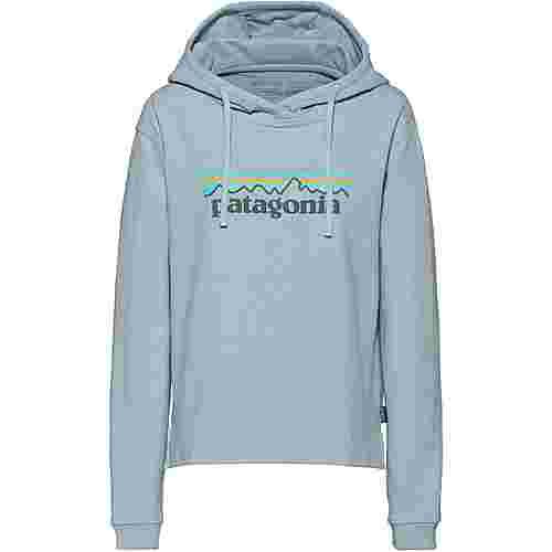 Patagonia Pastel P-6 Logo Hoodie Damen big sky blue