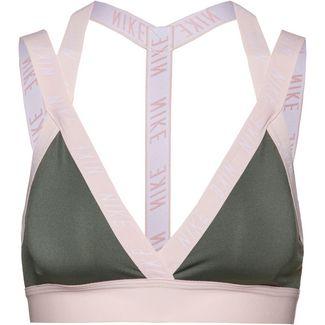 Nike Indy Logo Sport-BH Damen juniper fog-echo pink