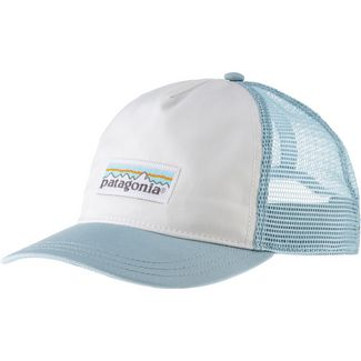 Patagonia Pastel P-6 Label Layback Cap Damen big sky blue