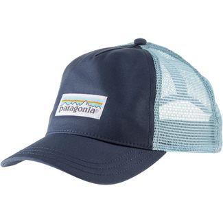 Patagonia Pastel P-6 Label Layback Cap Damen dolomite blue