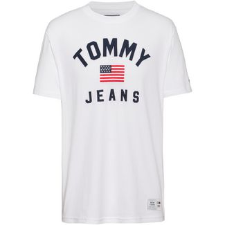 Tommy Jeans T-Shirt Herren classic white