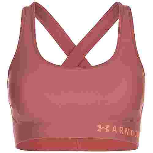 Under Armour Armour® Mid Crossback Sport-BH Damen pink