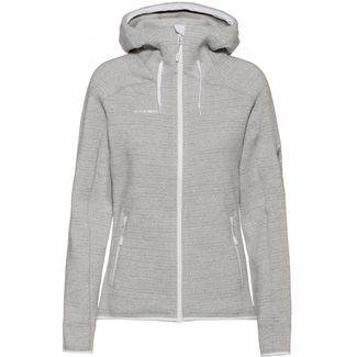 Mammut Arctic ML Fleecejacke Damen bright white-highway melange