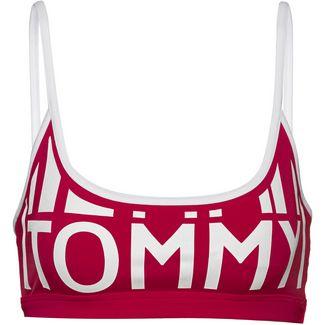 Tommy Hilfiger Tommy Block Bikini Oberteil Damen tango red