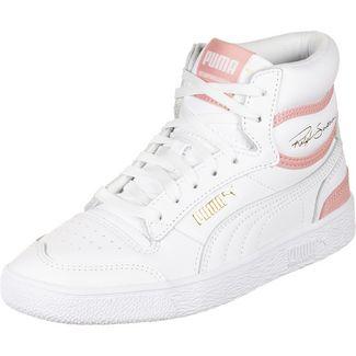 PUMA Ralph Sampson Mid Sneaker Herren weiß / rosa