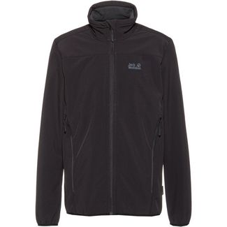 Jack Wolfskin NORTHERN POINT Softshelljacke Herren black