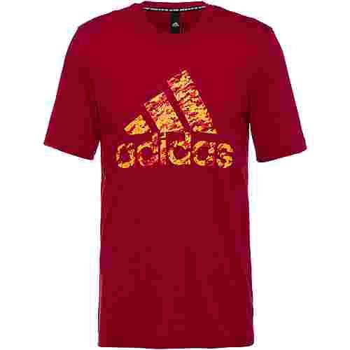 adidas T-Shirt Herren actmar-actora-actgol