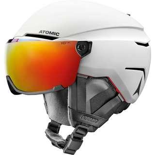 ATOMIC Savor Amid Visor HD Skihelm white