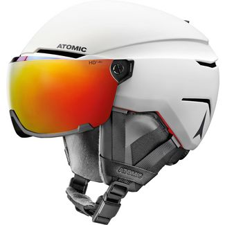 ATOMIC Savor Amid Visor HD Skihelm white