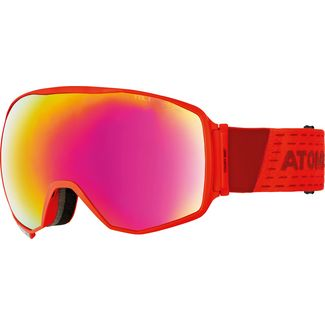 ATOMIC Count 360° HD Skibrille red
