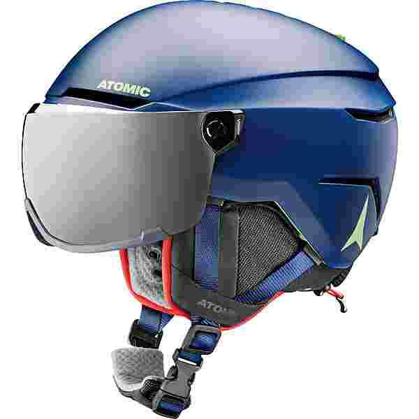 ATOMIC Savor Visor Jr Skihelm Kinder blue