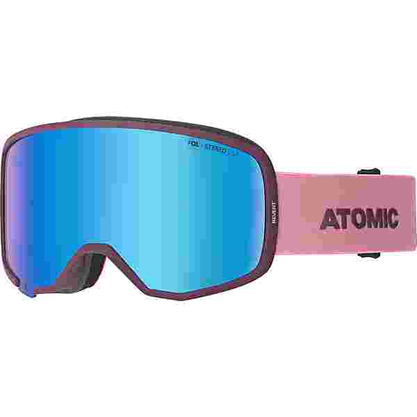 ATOMIC Revent Stereo Skibrille Damen nightshade/rose