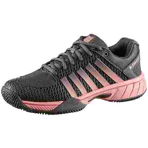 K-Swiss Express Light HB Tennisschuhe Damen plum kitten-coral almond