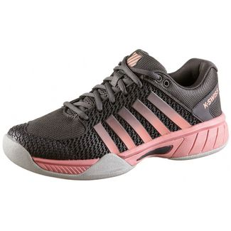 K-Swiss EXPRESS LIGHT CARPET Tennisschuhe Damen plum kitten-coral almond-gull gray