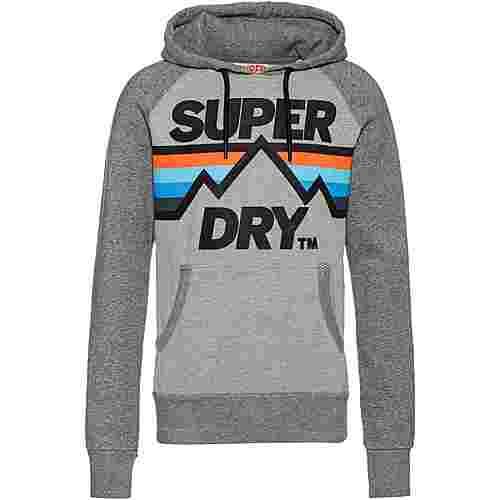 Superdry Downhill Racer Hoodie Herren grey marl
