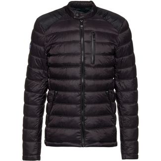 Superdry Steppjacke Herren jet black