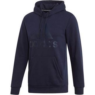 adidas MH BOS Hoodie Herren legend ink-dark blue