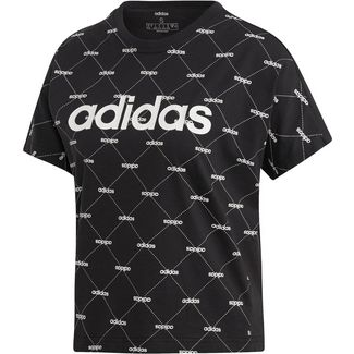 adidas Core Fav T-Shirt Damen black-white