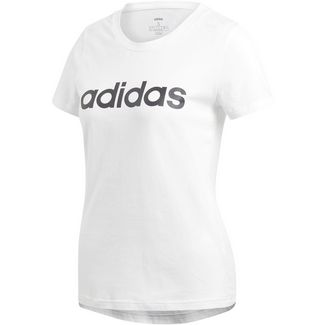 adidas Linear Funktionsshirt Damen white