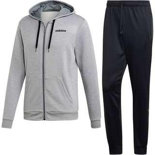 adidas Linear Trainingsanzug Herren medium grey heather